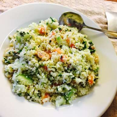 Couscous Vegetable Salad recipe in Telugu,Couscous Vegetable Salad, Ankita Agarwal