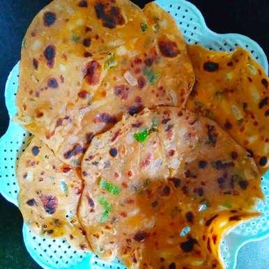Photo of Sindhi Onion Flat Bread by Ankita Tahilramani at BetterButter