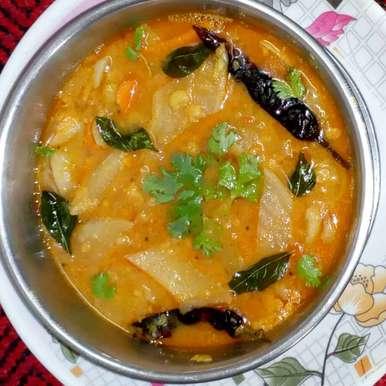 Photo of Raadish,carrot,mixed dal  sambar by మొహనకుమారి jinkala at BetterButter