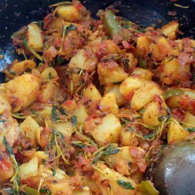 Photo of Methi aloo curry by మొహనకుమారి jinkala at BetterButter
