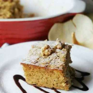 Photo of Banana Bread Baked Oatmeal with Toasted Walnuts by Anshu Pande at BetterButter
