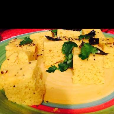 Photo of Soft and Spongy Instant Khaman Dhokla without eno by Antara Navin at BetterButter