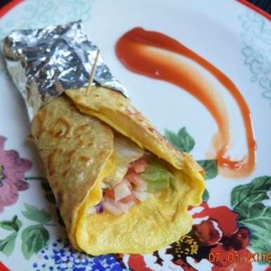 Photo of Kolkata Stye Egg Roll by Antara Navin at BetterButter