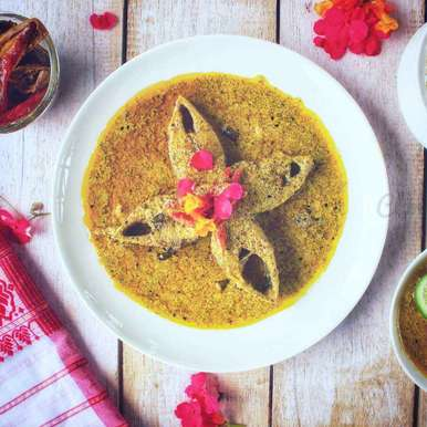 Hilsha Fish With Curd and Mustard paste, How to make Hilsha Fish With Curd and Mustard paste
