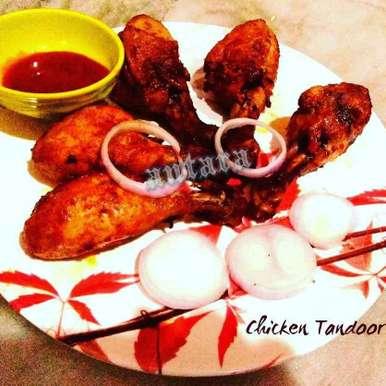 CHICKEN TANDOORI recipe in Bengali,চিকেন তন্দুরি, Antara Chakraborty