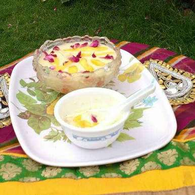 Excellent Shahi Mango Paneer Kheer Mango Flavoured Cottage Cheese Pudding Download Free Architecture Designs Intelgarnamadebymaigaardcom