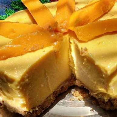Mango Cheesecake, How to make Mango Cheesecake