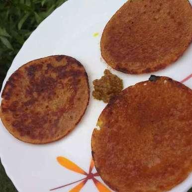Aate kaa gud ka chilla recipe in Hindi,आटे का गुड़ का चीला, Anu Lahar