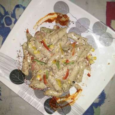 Photo of White Sauce Pasta by Anuj Arora at BetterButter