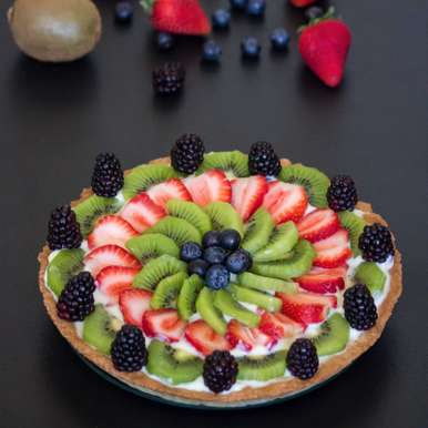 Photo of Fruit Tart by Anupa Joseph at BetterButter