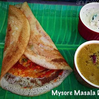 Mysore Masala Dosa, How to make Mysore Masala Dosa