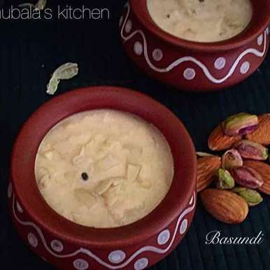 Photo of Basundi by Anuradha Balasubramanian at BetterButter