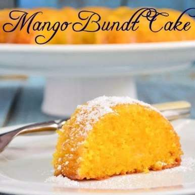 Photo of Eggless Mango Bundt Cake by Anusha Praveen at BetterButter