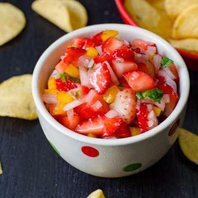 Photo of Strawberry Salsa by Anusha Praveen at BetterButter