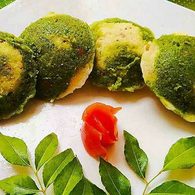 Photo of Spinach Marble Idli by Aparajita Dutta at BetterButter