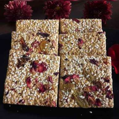Photo of Sesame seeds chikki by Aparna Reddy at BetterButter