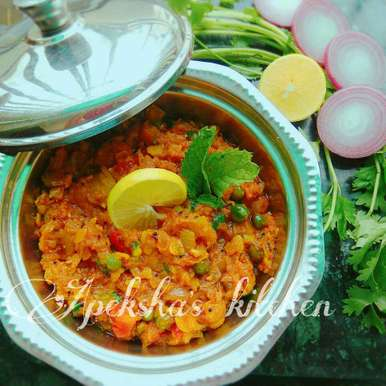 Photo of Doodhi Nu Bhartu by Apeksha's Kitchen at BetterButter