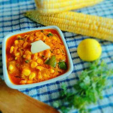 Photo of Corn Capsicum Masala by Apeksha's Kitchen at BetterButter