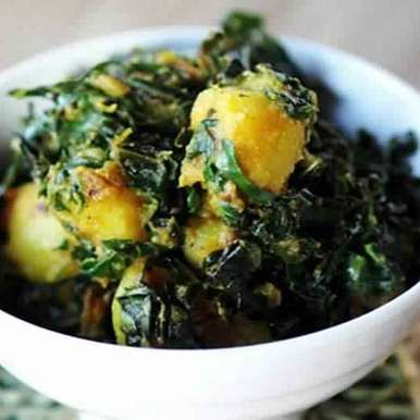 Photo of Aloo saag by Aravind menon at BetterButter