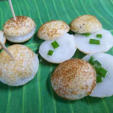 Photo of Thai Coconut Rice pancake(Khanom Krok) by Archana Chaudhari at BetterButter