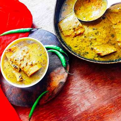 Photo of Veg fish curry in spicy mustard gravy by Archana Srivastav at BetterButter