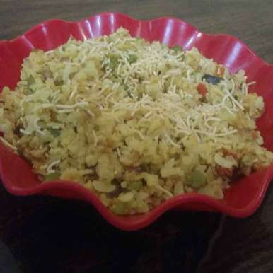 Photo of Vegetabel oats poha. by Archana Vaja at BetterButter