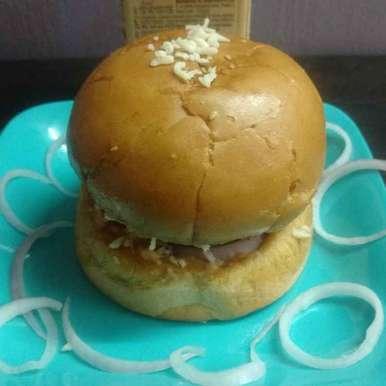 Photo of Paneer Corn Cheese Burger. by Archana Vaja at BetterButter