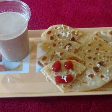 Photo of Cheese stuff paratha by Archana Vaja at BetterButter