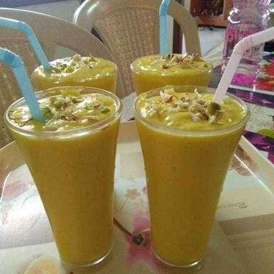 Photo of Mango milk shake by Arpita Bhattacharyya at BetterButter