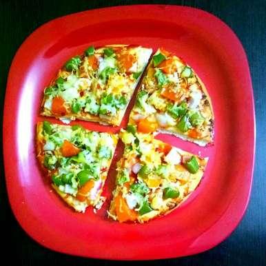 Photo of Veg Pizza by Arpita Majumder at BetterButter
