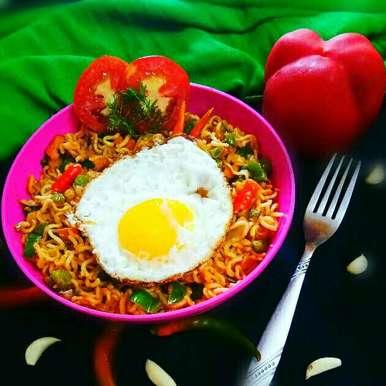 Photo of Egg Noodles by Arpita Majumder at BetterButter