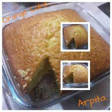 Photo of Orange Cake by Arpita Roy Pal at BetterButter