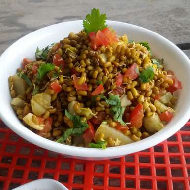 Photo of Achari Moth Chaat by Arti Gupta at BetterButter