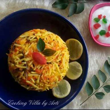 Photo of Carrot Lemon Rice by Arti Gupta at BetterButter