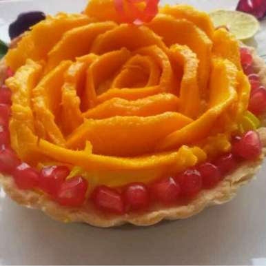 Photo of Mango Tart by Arti Gupta at BetterButter