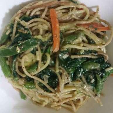 Veg Spaghetti, How to make Veg Spaghetti