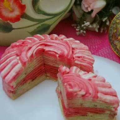 Photo of No bake crepe cake by Asheera Haja at BetterButter