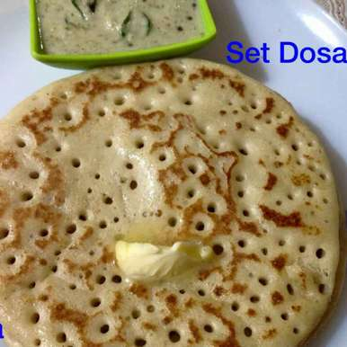 Set dosa, How to make Set dosa