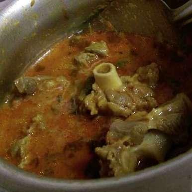 Mutton Gravy recipe in Tamil,மட்டன் கிரேவி, Asiya Omar
