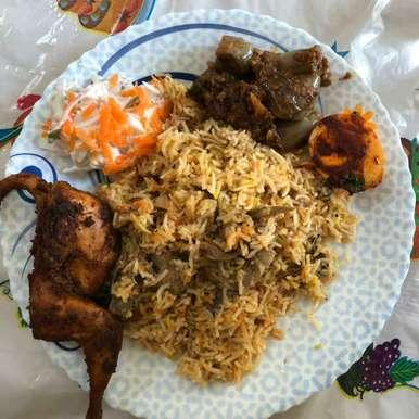 Hyderabad Mutton Dum Briyani recipe in Tamil,ஹைதராபாத் மட்டன் தம் பிரியாணி, Asiya Omar