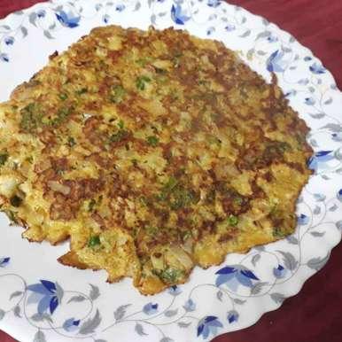 Photo of Cauliflower egg omlette by Asiya Omar at BetterButter