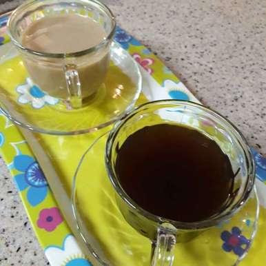 Palm jaggery tea recipe in Tamil,கருப்பட்டி சாயா, Asiya Omar