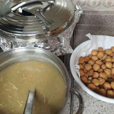 Sweetcorn chicken soup recipe in Tamil,ஸ்வீட்கார்ன் சிக்கன் சூப், Asiya Omar