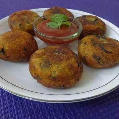 Potato Paneer Tikki recipe in Gujarati, આલુ પનીર ટીકકી, Avani Desai