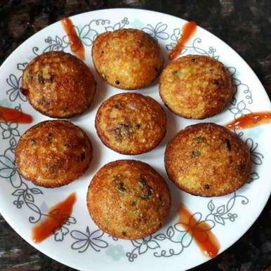 Photo of Sooji Vegetable Appe by Babita Jangid at BetterButter