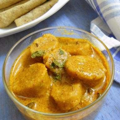 Photo of Gatte Ki Sabji   Indian Style Sabji  ( No Onion No Garlic ) by Babitha Costa at BetterButter