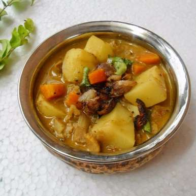 Photo of Beef Mappas | Beef and vegetable in coconut milk by Babitha Costa at BetterButter
