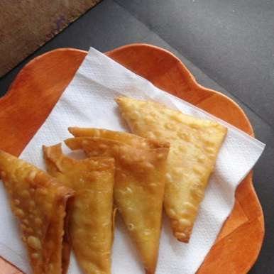 Photo of Onion Samosa | Triangle samosa by Babitha Costa at BetterButter