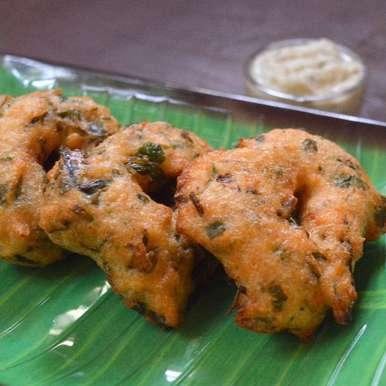 Photo of Keerai vada | Amaranath Leaves-Urad Dal Fritters by Babitha Costa at BetterButter