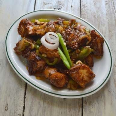 Photo of Chilly Chicken | Restaurant Style Chilly chicken ( Dry Version ) by Babitha Costa at BetterButter